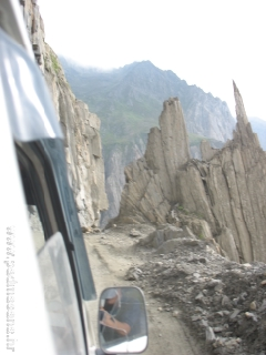 Hard and rocky terrain (Ladakh)