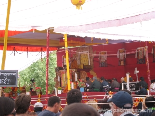H.H. Dalai Lama's teaching in Leh