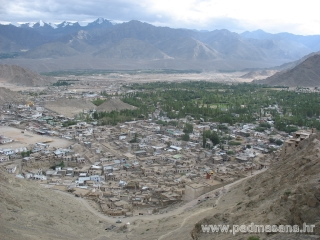 View of a part of the Leh
