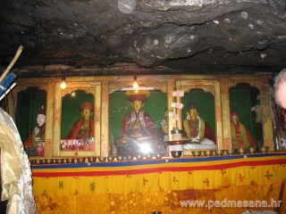 Shrine in the cave