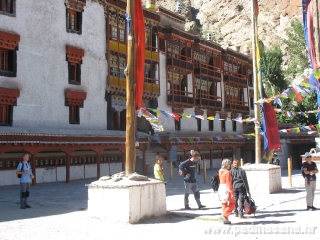 View of Hemis Monastery
