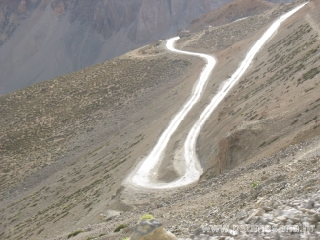 Drive between Tsomoriri & Sarchu