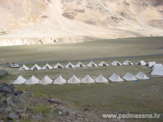 Tents in Sarchu